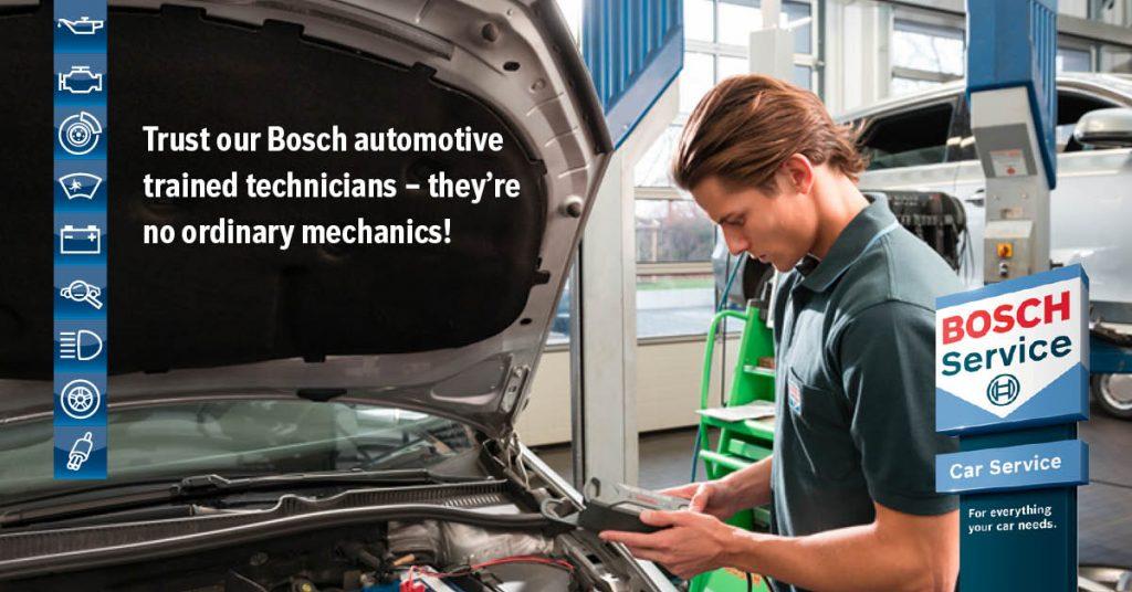 Mechanic Performing Car Repairs